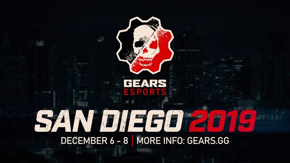 Gears Esports Collateral - Promo leading up to the December 2019, San Diego Gears Esports event.