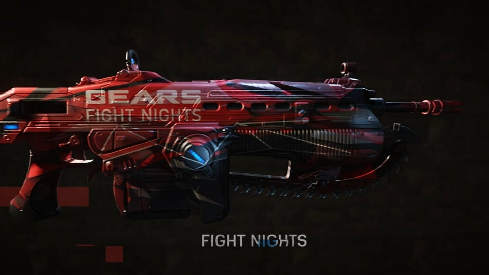 Gears Esports Collateral - Gears Esports Supporter Pack Weapon Skins direct purchase promo.
