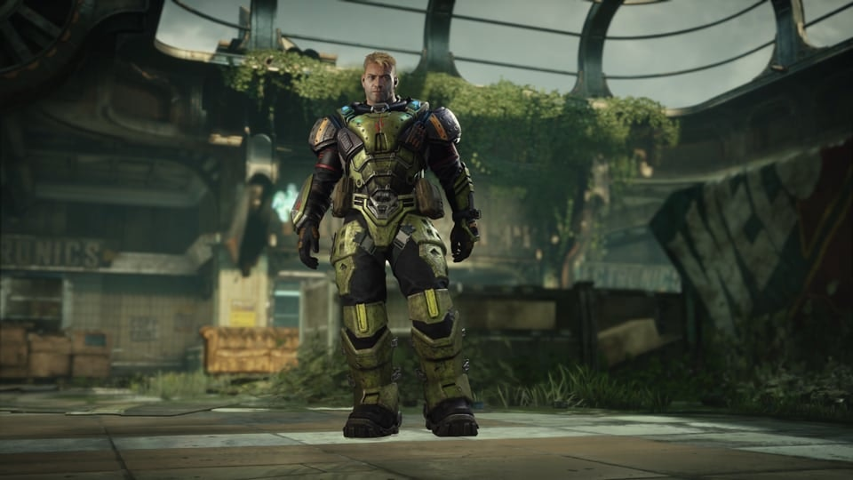 GEARS 5 - Gears 5 – Operation 4: Store promo, featuring Major Paduk.