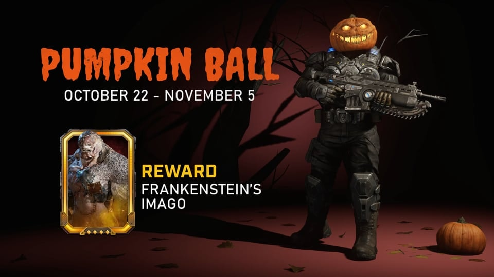 GEARS 5 - Video for social media promoting the multiplayer event, Pumpkin Ball, featuring special skins and other event specific content.
