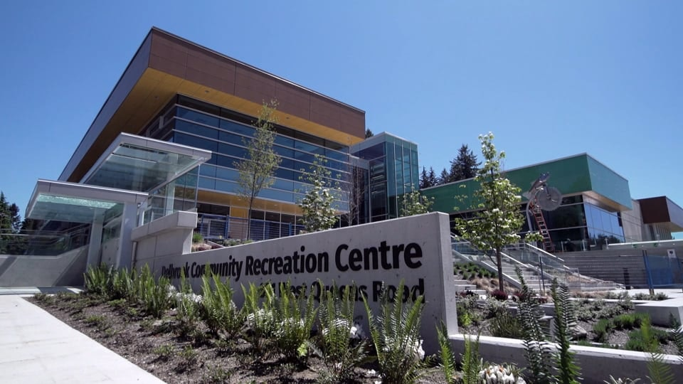 DISTRICT OF NORTH VANCOUVER - The District of North Vancouver commissioned us to do a series of videos surrounding the process, development, and construction of the new Delbrook Recreation Centre, in order to keep North Vancouver community members informed. The process spanned documenting community meetings, planning, construction phases, and finally, the opening of the new centre. Cinematography by Full Frame Productions.