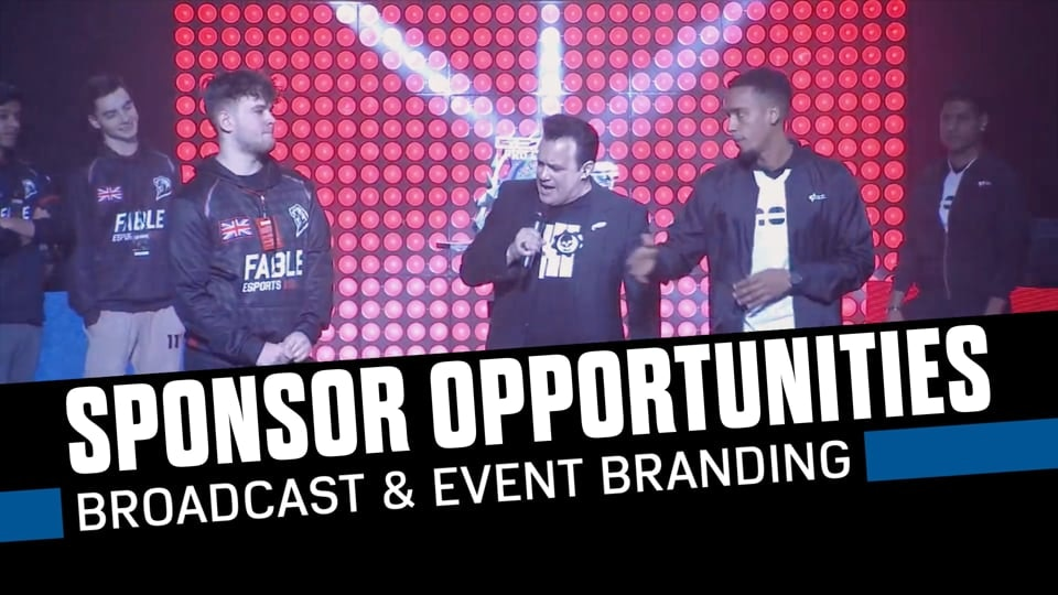 Gears Esports Collateral - Highlight reel of past esports events, for the purpose of attracting sponsorship.