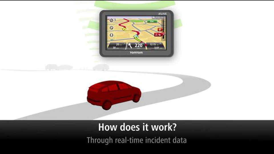 Motion Graphics - This is an industrial video for the GPS navigation device and service, TomTom Live. I provided 2D animation and compositing services to the boutique animation and production facility, Global Mechanic, www.globalmechanic.com, for this video.