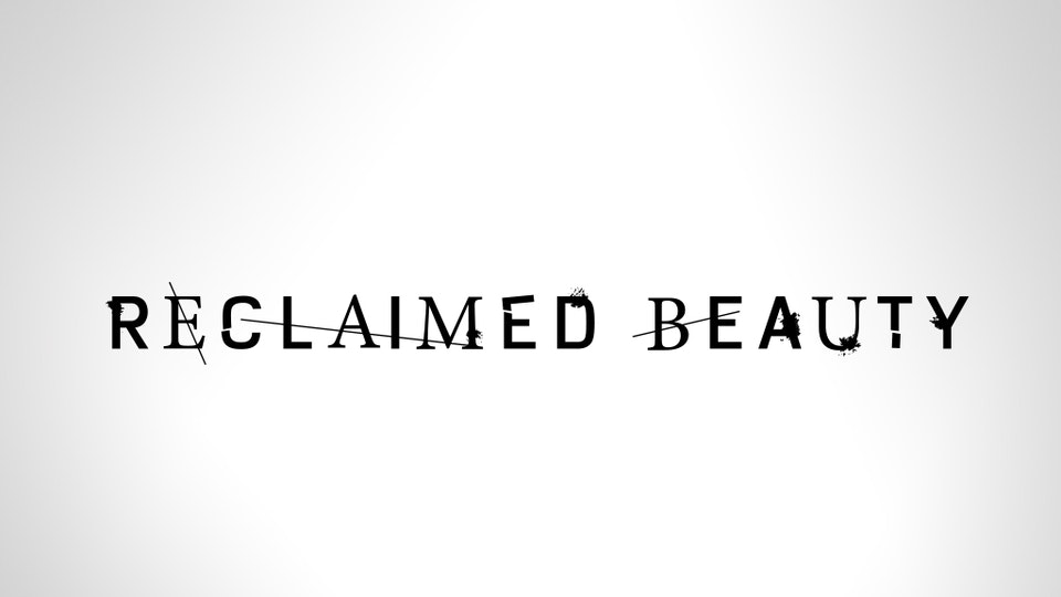Reclaimed Beauty - Identity design for Reclaimed Beauty – a 4 part docu-series from The Coalition offering a deeper, behind-the-scenes look into the process of making Gears of War 4.