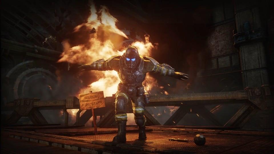 GEARS 5 - Gears 5 – Operation 3: Social media promo for Benjamin Carmine (Firestarter Ben) character.