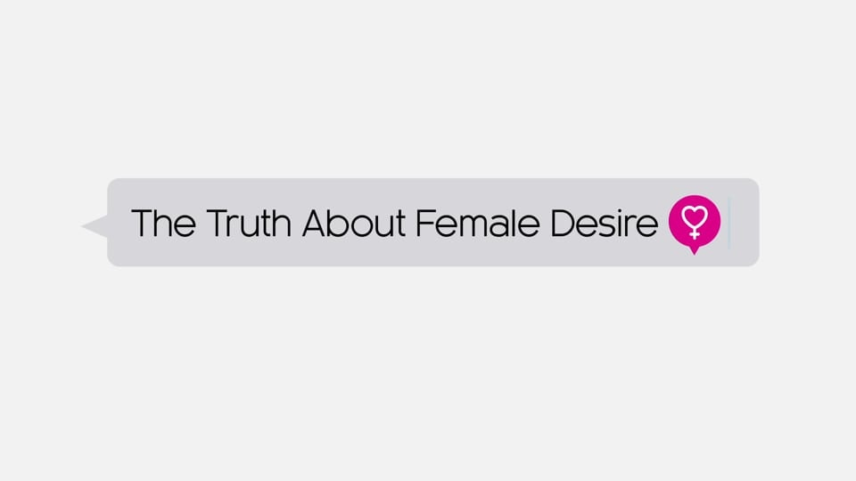 Documentary in-show graphics - The Truth About Female Desire, examines female sexuality and desire of Canadian women. This documentary premiered on CBC's Doc Zone in February of 2015. We designed and produced the, opening title sequence, and all in-show graphics + animations, in addition to their print publicity materials.  client: Bountiful Films  To see more animation, please visit: https://vimeo.com/berettadesigns