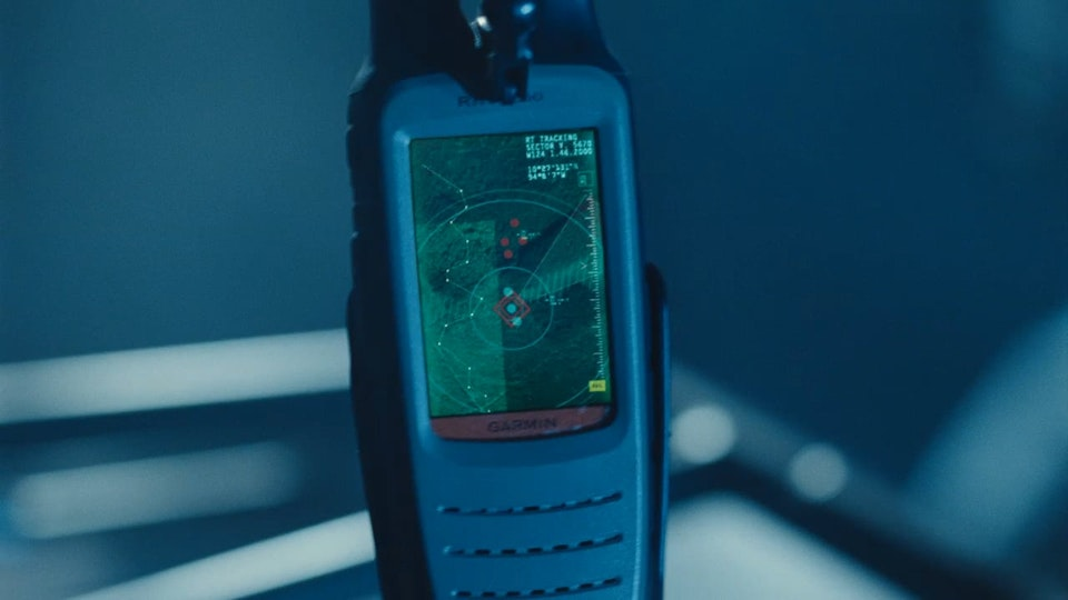 FUI/PLAYBACK GRAPHICS - Graphic design/FUI/playback graphics of GPS tracker shots in Jurassic World (2015). Designs by Tiz Beretta. Compositing/VFX/Animation by Image Engine Design Inc. 20 shots total.