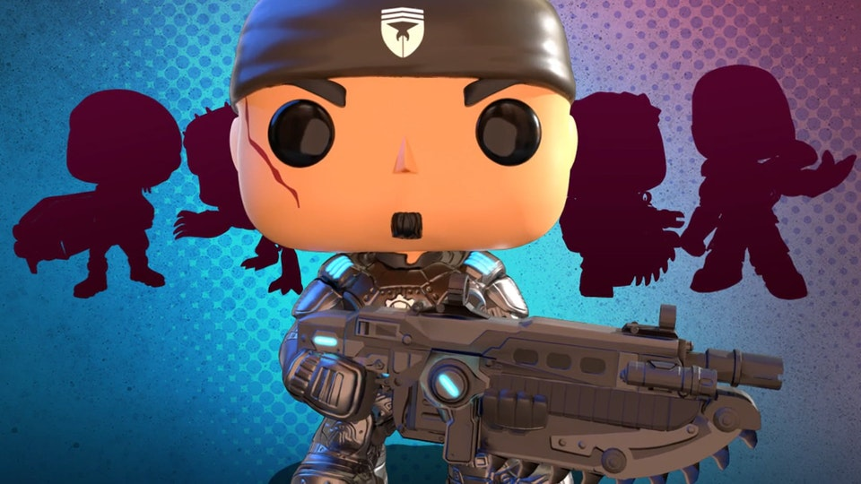 Gears Pop - This is concept art and motion graphics animation I designed for the new Gears POP IP. Formatted for social media distribution.   3D animation: Yang Zhang