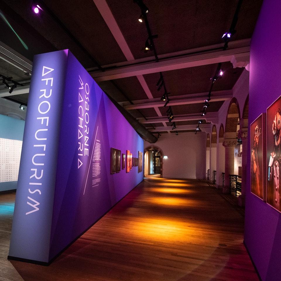 Studio Ang - TROPEN MUSEUM: Afrofuturism Exhibition