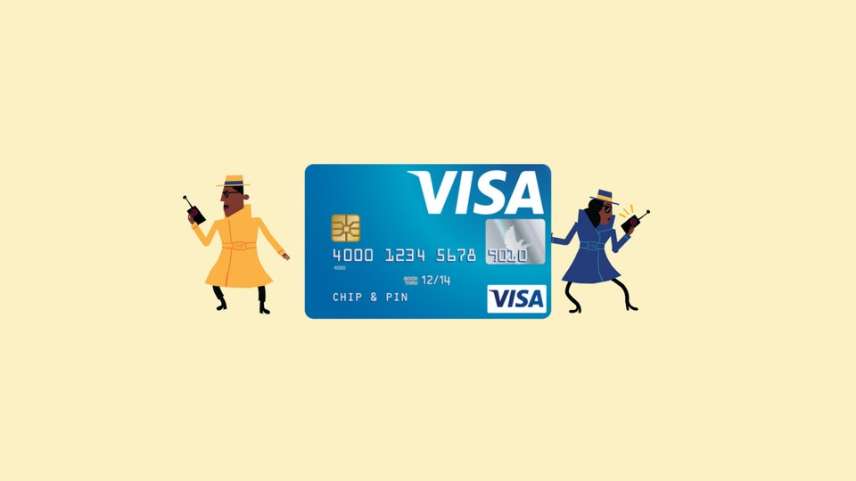 VISA: Chip and Pin - VISA 3