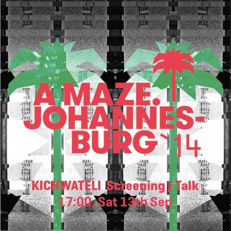 Studio Ang - A MAZE.: Johannes-burg '14