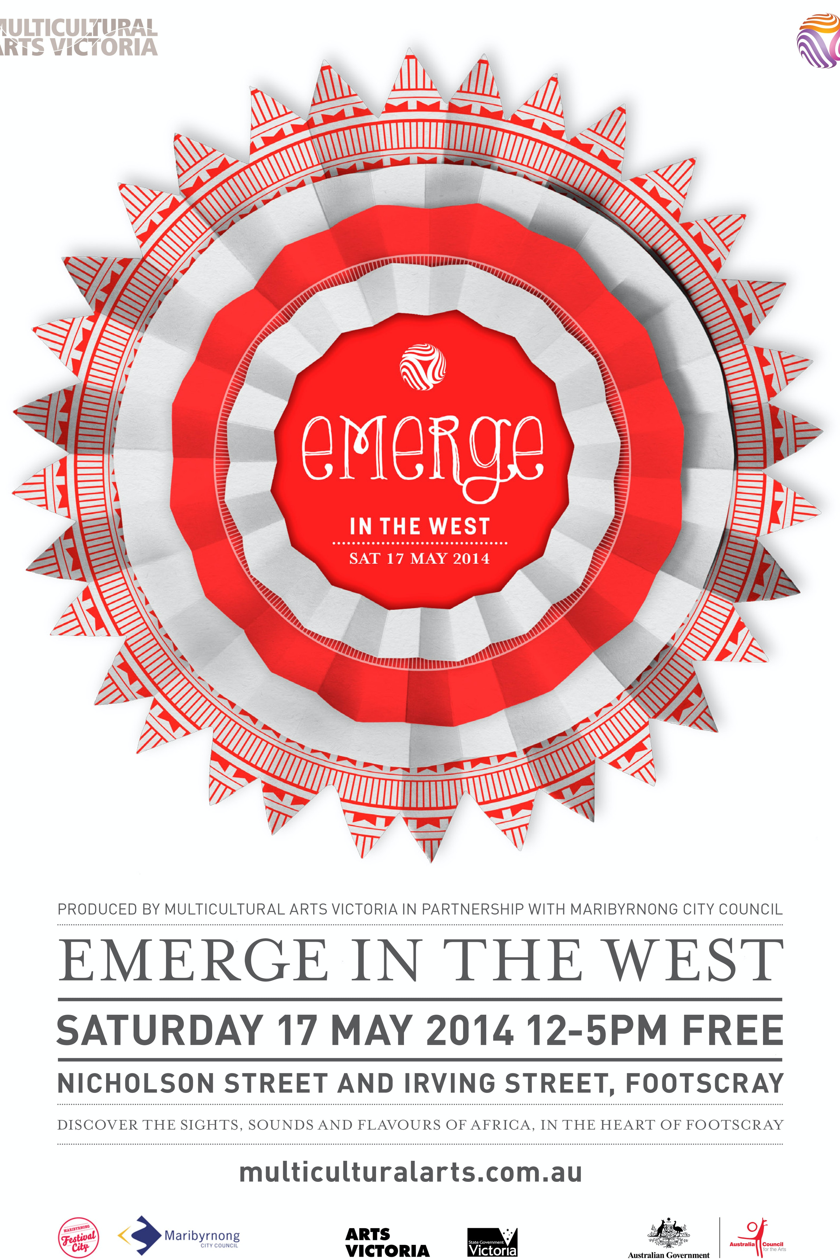 MULTICULTURAL ARTS VICTORIA: Emerge in the west Exhibition