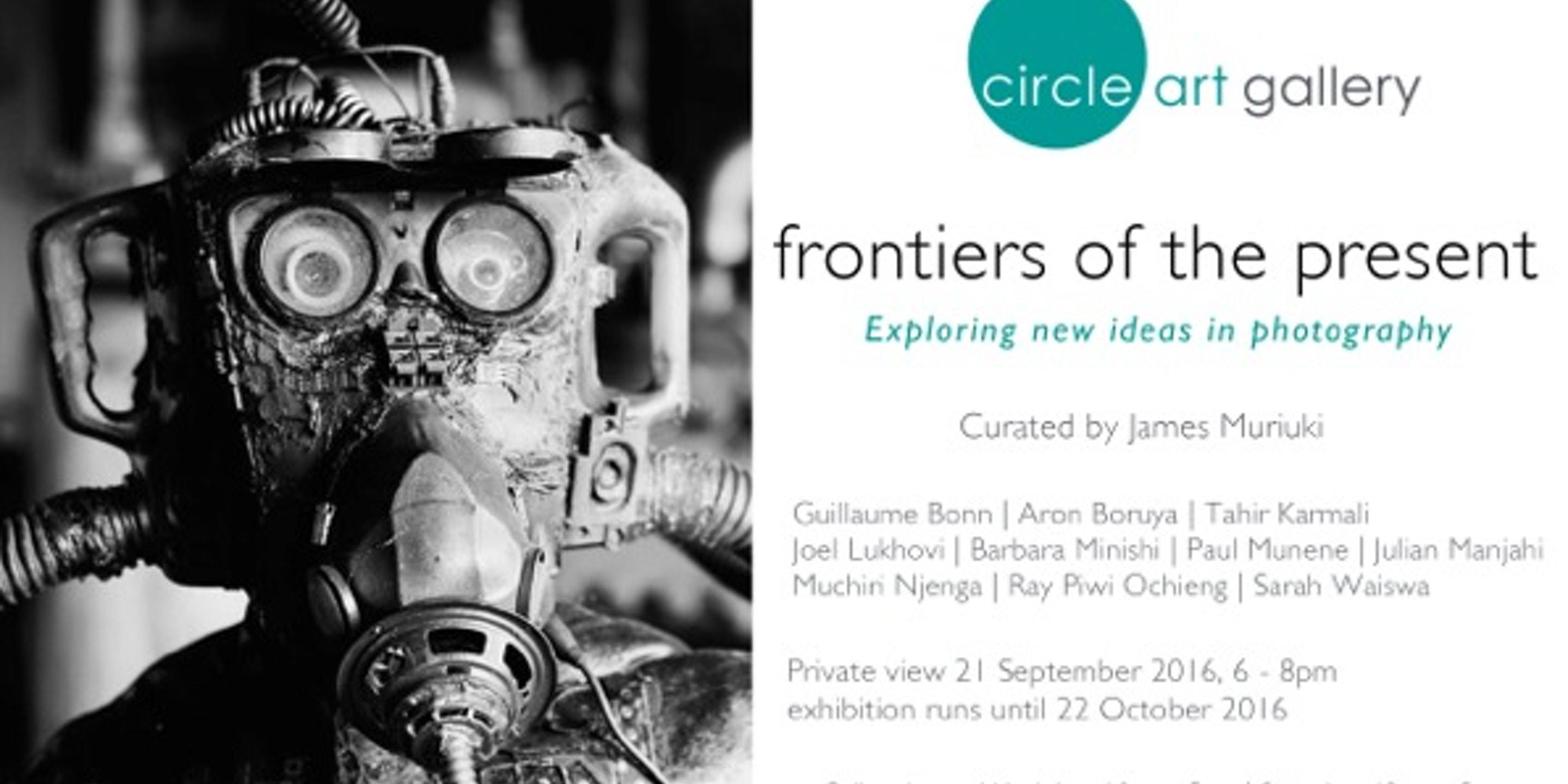 CIRCLE ART GALLERY: Frontiers Of The Present Exhibition