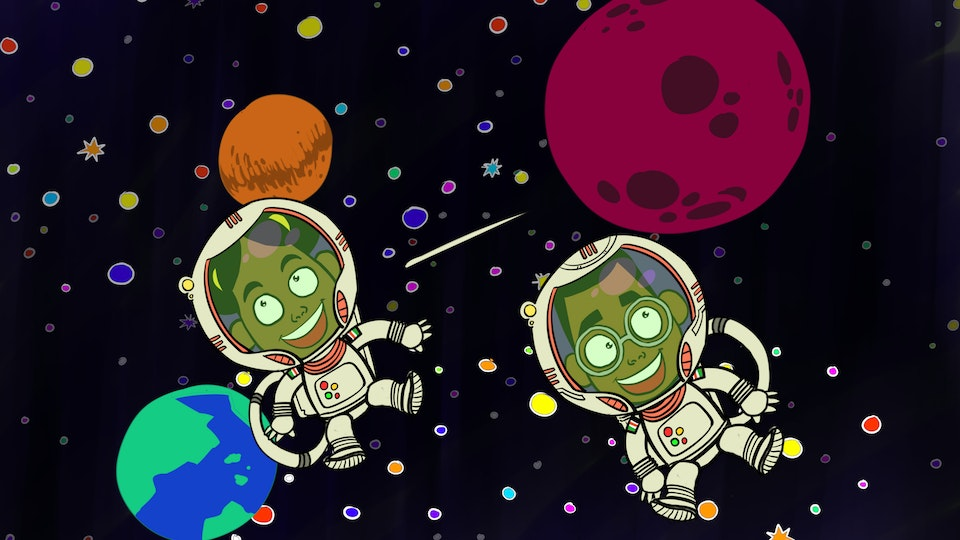 THE ADVENTURES OF BENA & KENA: Space Is The Place - Space Float HD
