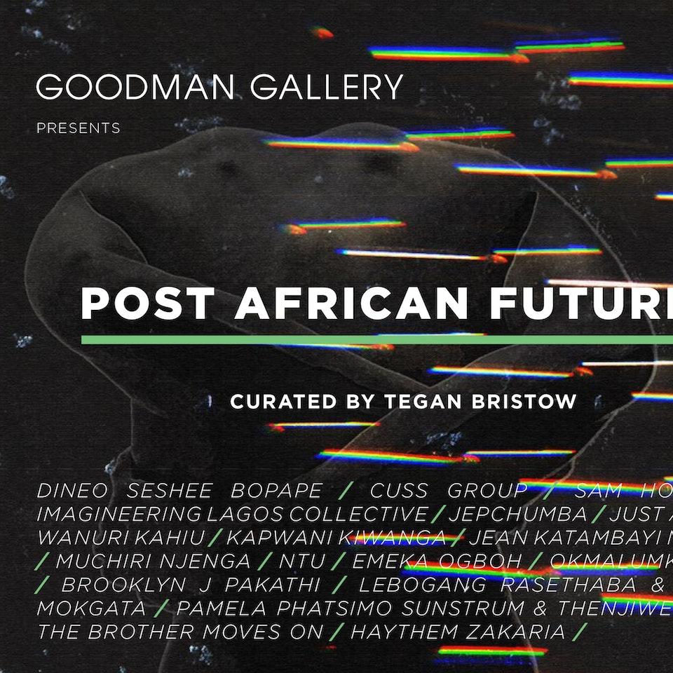Studio Ang - GOODMAN GALLERY: Post African Futures Exhibition