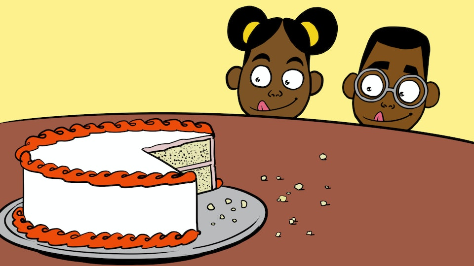 Adventures of Bena & Kena - Not The End Of The World - cake