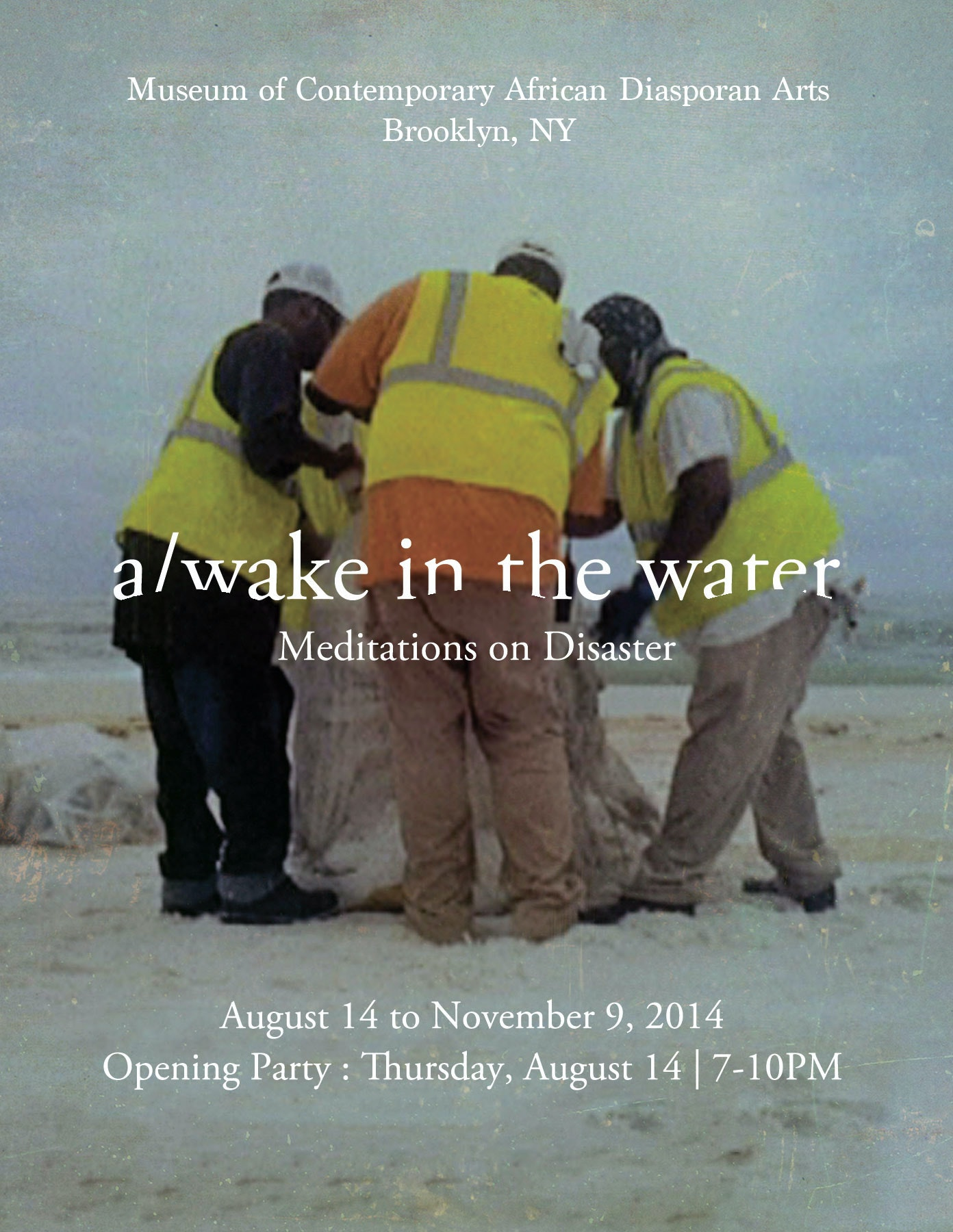 awake in the water