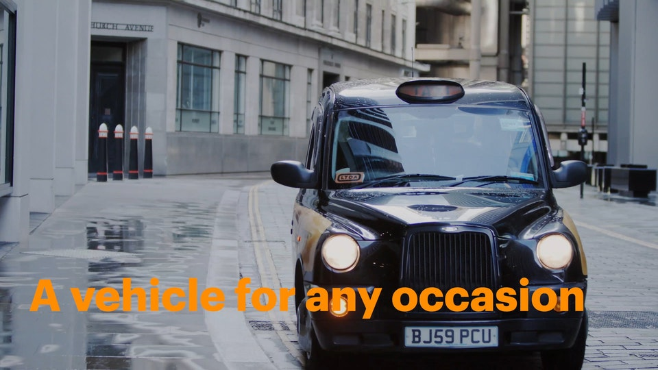 Gett - B2B - A vehicle for every occasion