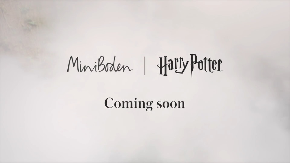 Mini Boden - Harry Potter - 3 x Teasers