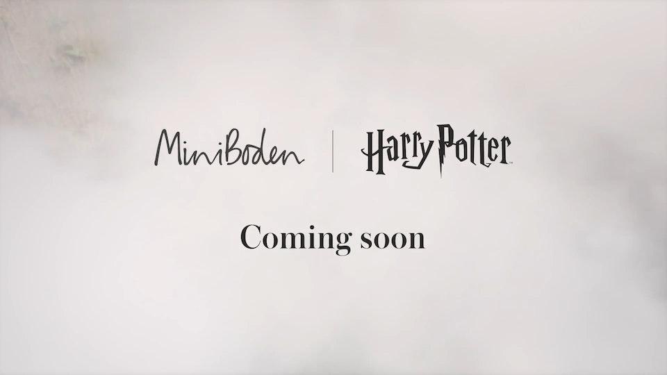 Mini Boden - Harry Potter - 3 x Teasers