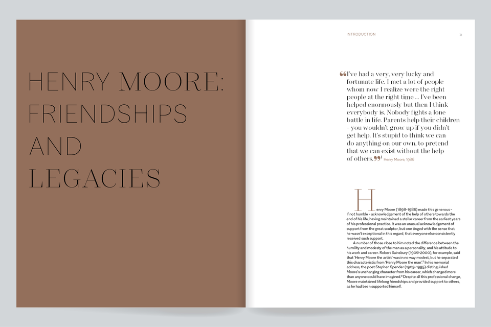 Henry Moore: Friendships and Legacies