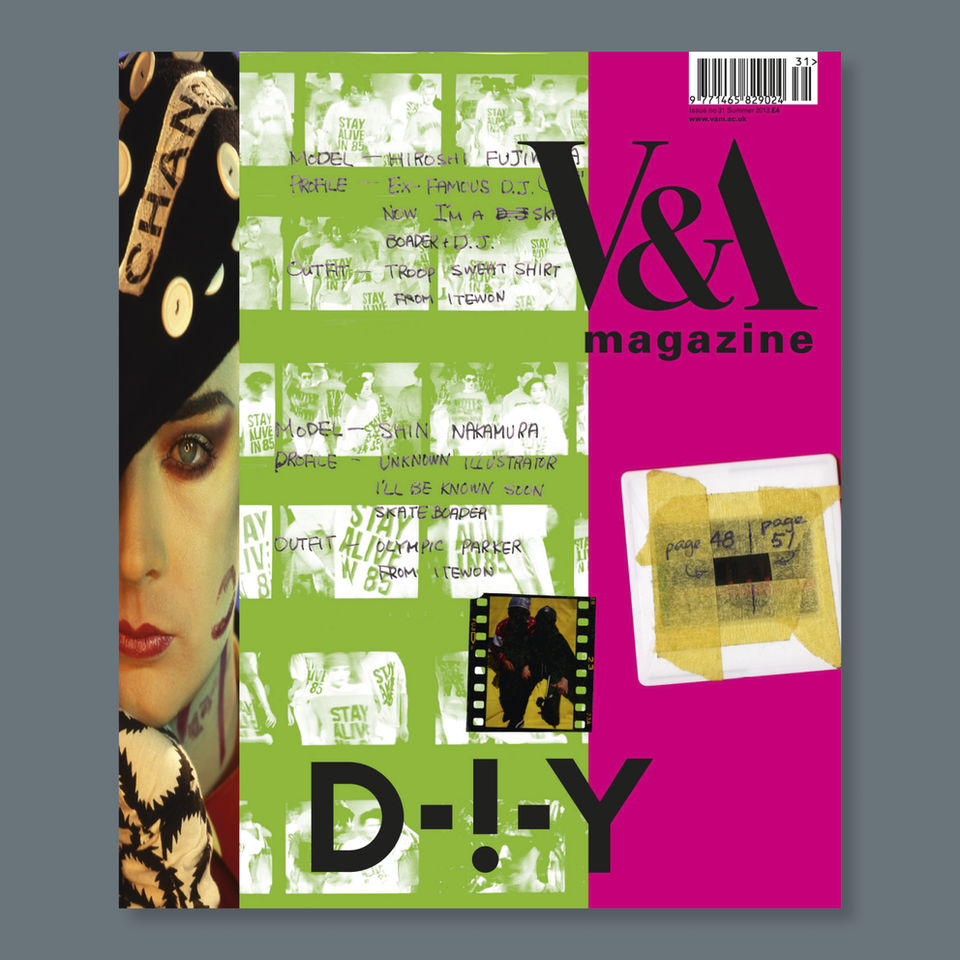 V&A Magazine - Cover design Terry Jones