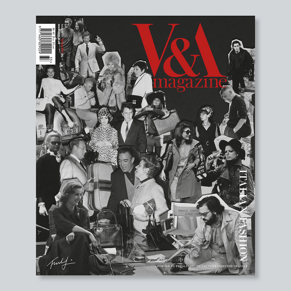 V&A Magazine - Cover artwork by Frida Giannini, creative director of Gucci