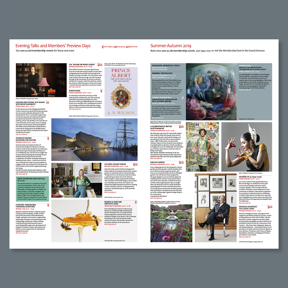 V&A Members' Newsletter