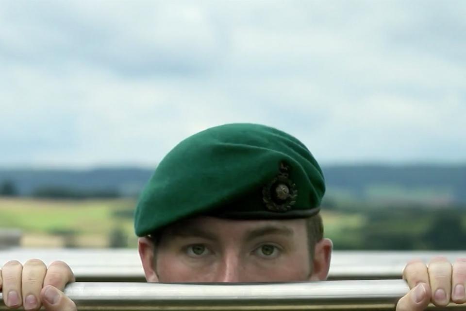 Green Beret - Royal Marines Brand Film Still