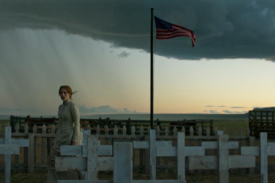 Woman Walks Ahead - Woman Walks Ahead Trailer Starring: Jessica Chastain, Michael Greyeyes, Chaske Spencer, Sam Rockwell