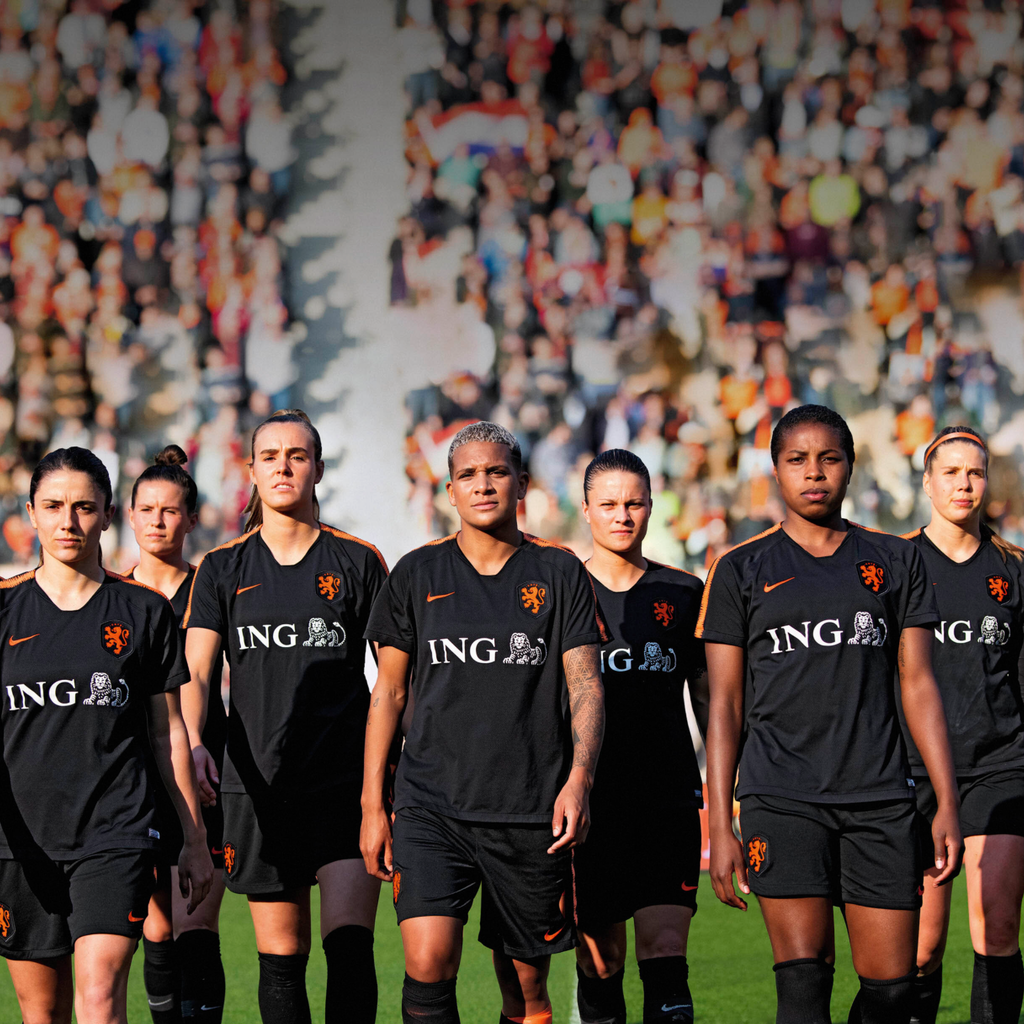 ING - Proud sponsor of the Dutch Lionesses (TV ad series)