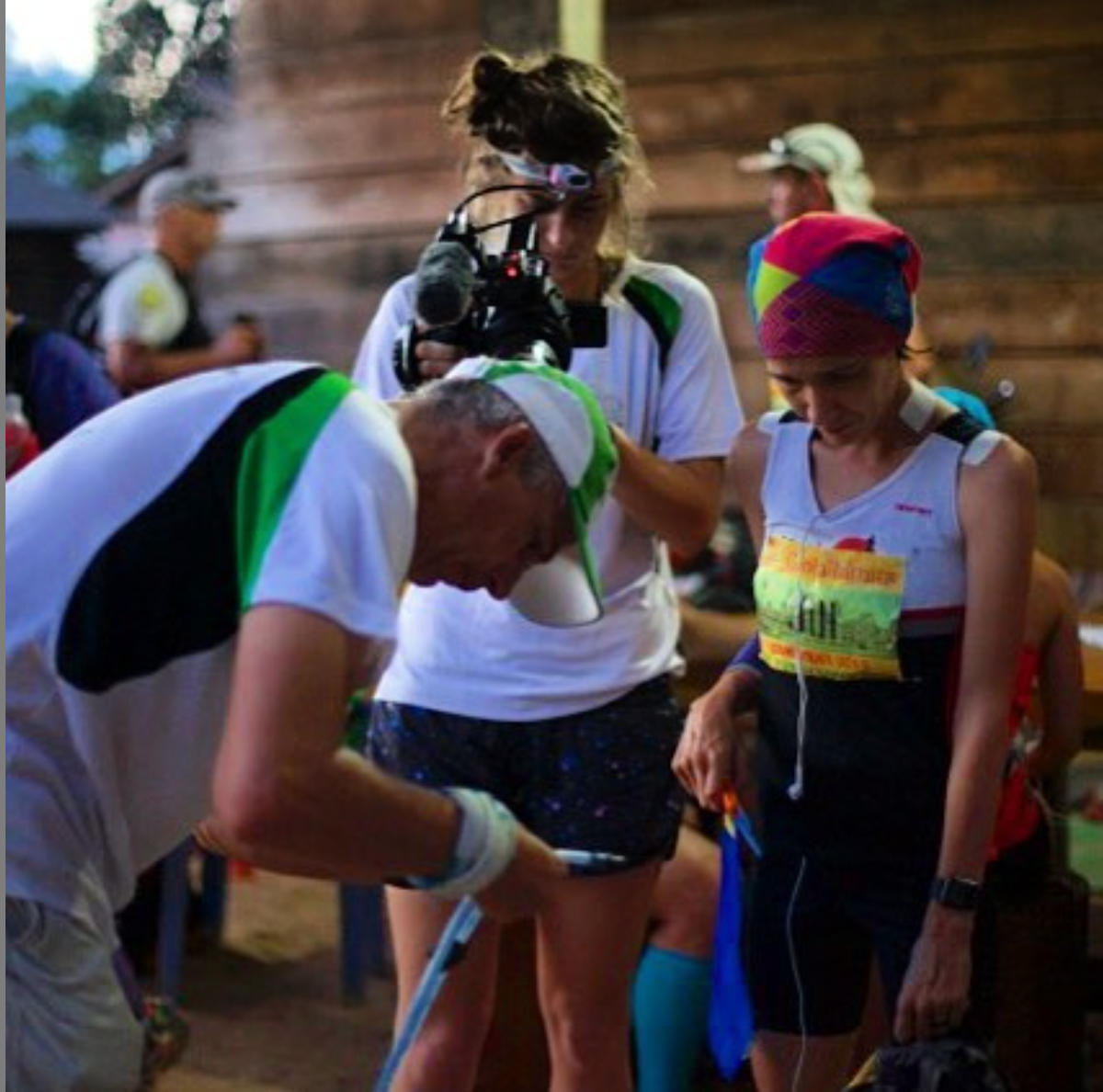 Filming Ultra -Marathons across the pacific.