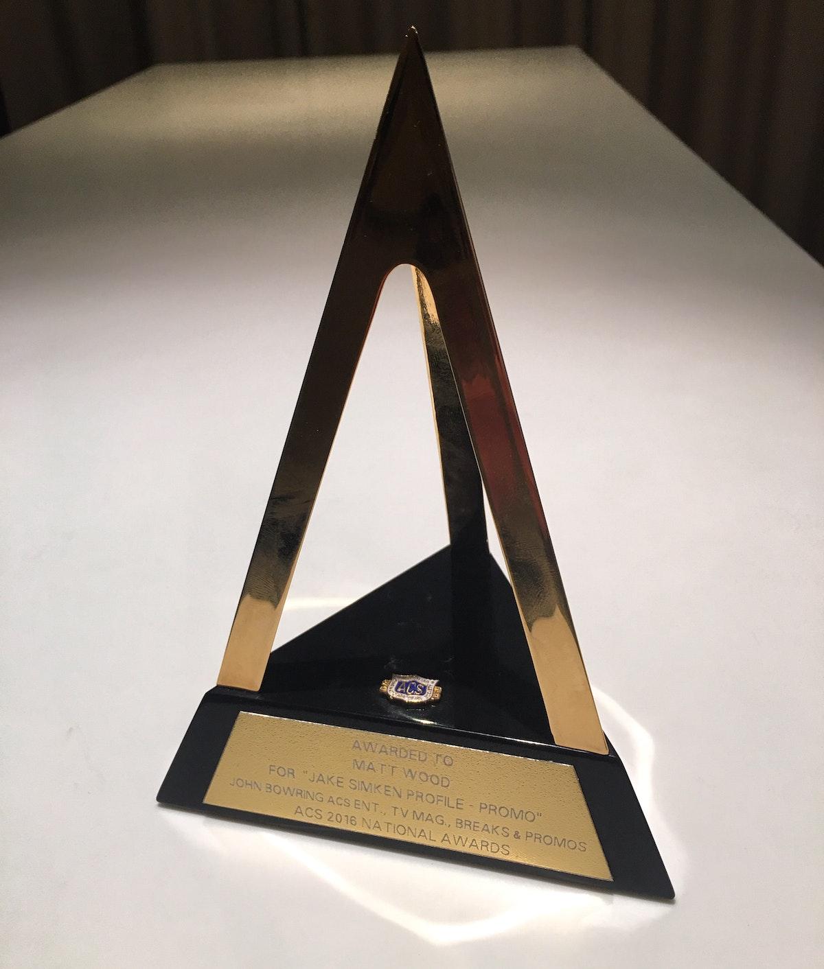 Foreign Correspondent wins ACS Golden Tripod