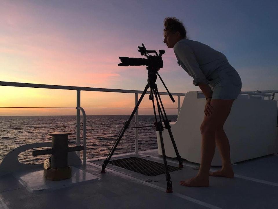 Filming in Western Australia
