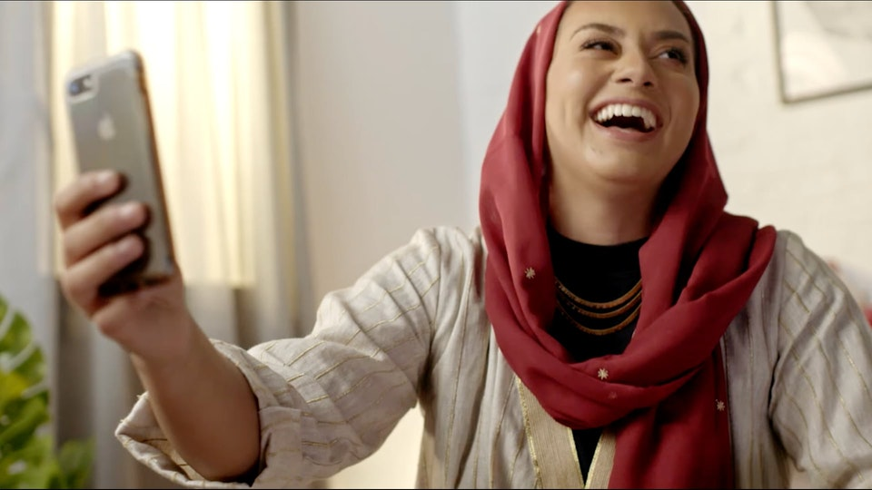 Under The Abaya - UNILEVER - 3/3 HEALTH AMBASSADORS  Shot in Bangkok and remotely directing to Jeddah. We created a suite of films connecting women and demystifyingSaudi Arabian stereotypes.