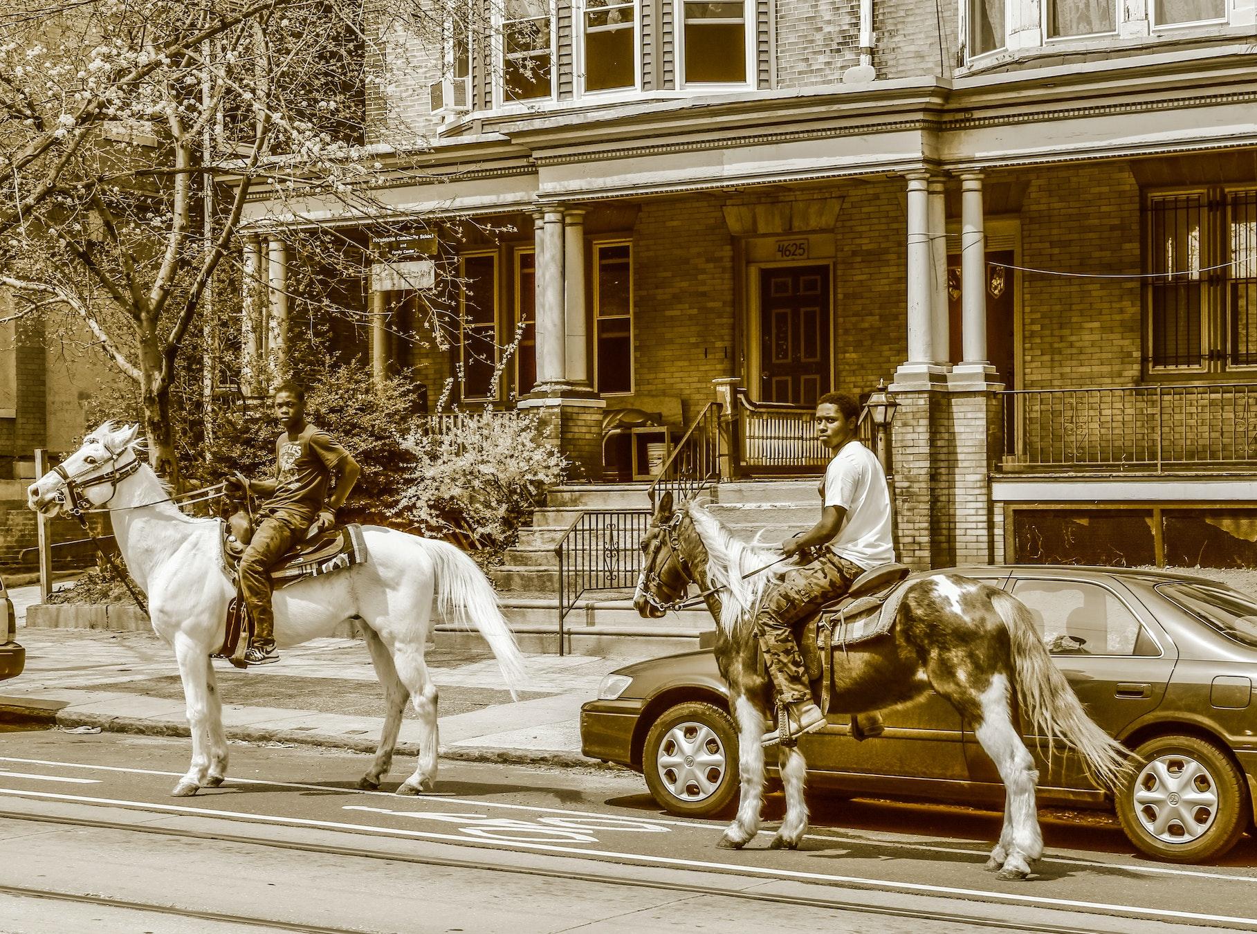 Riding On 46th Street