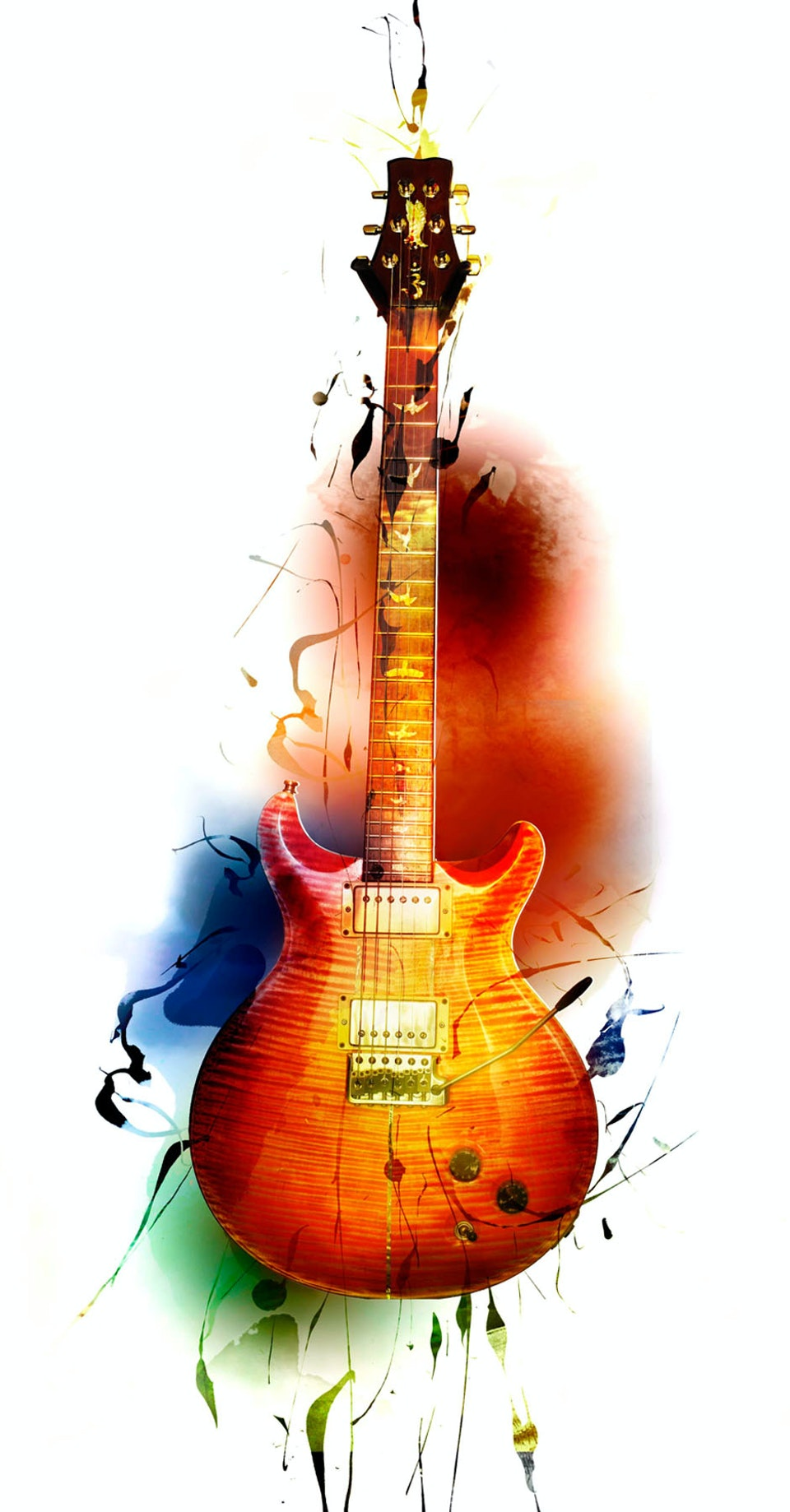 Santana Guitar Heaven - Packaging art