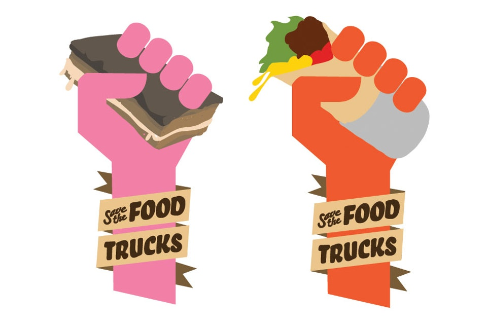 Save the Food Trucks - Additional branding for the campaign