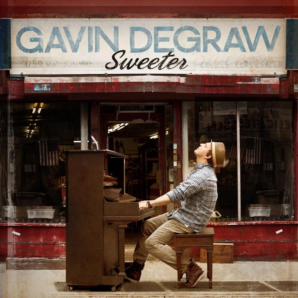 Single Covers - Gavin DeGraw Sweeter single