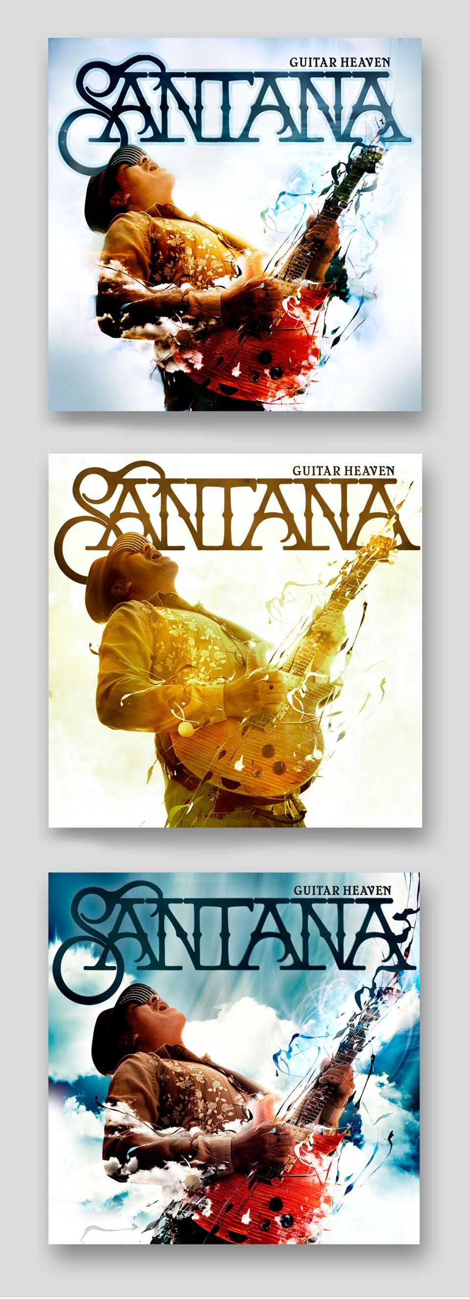 Santana Guitar Heaven - Cover comps