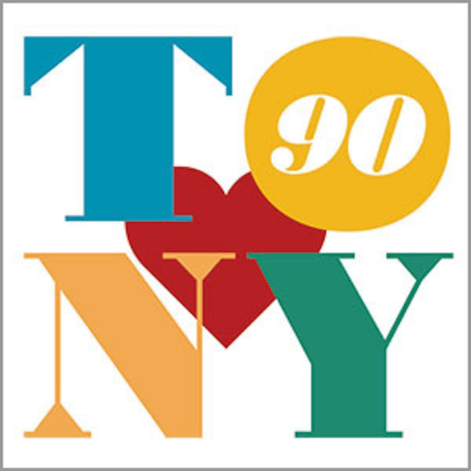 TONY BENNETT 90th logo
