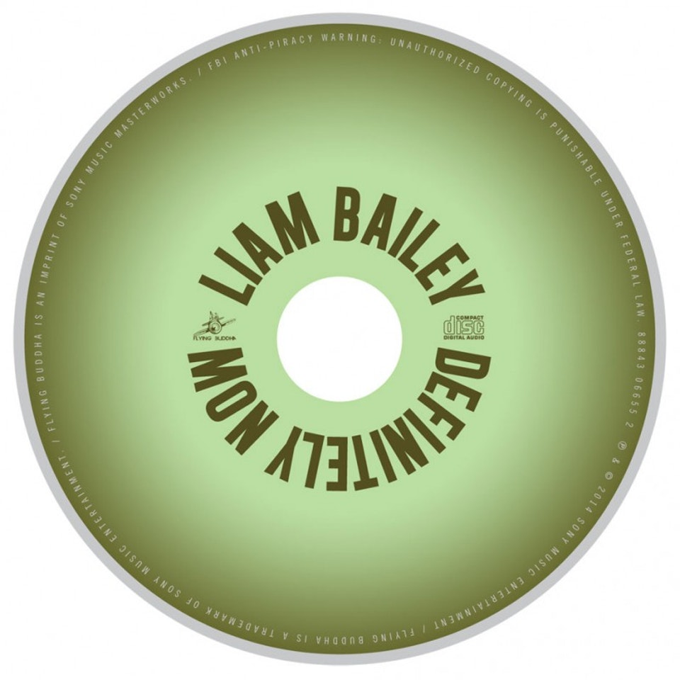 Liam Bailey - CD art