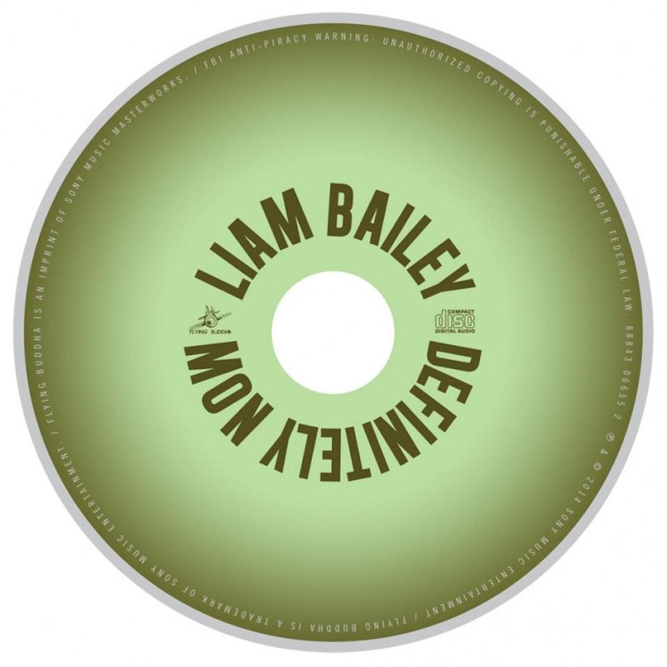 Liam Bailey - CD art