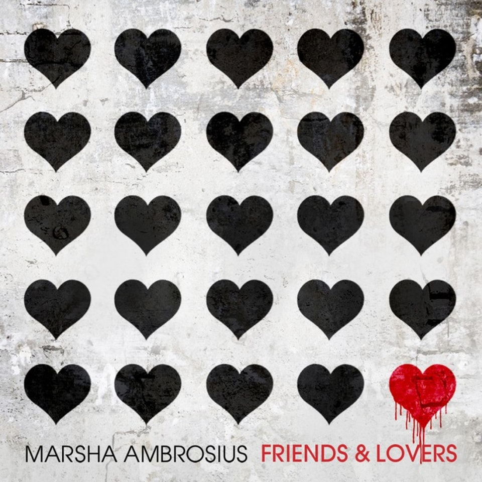 Marsha Ambrosius Friends & Lovers - Friends & Lovers single cover