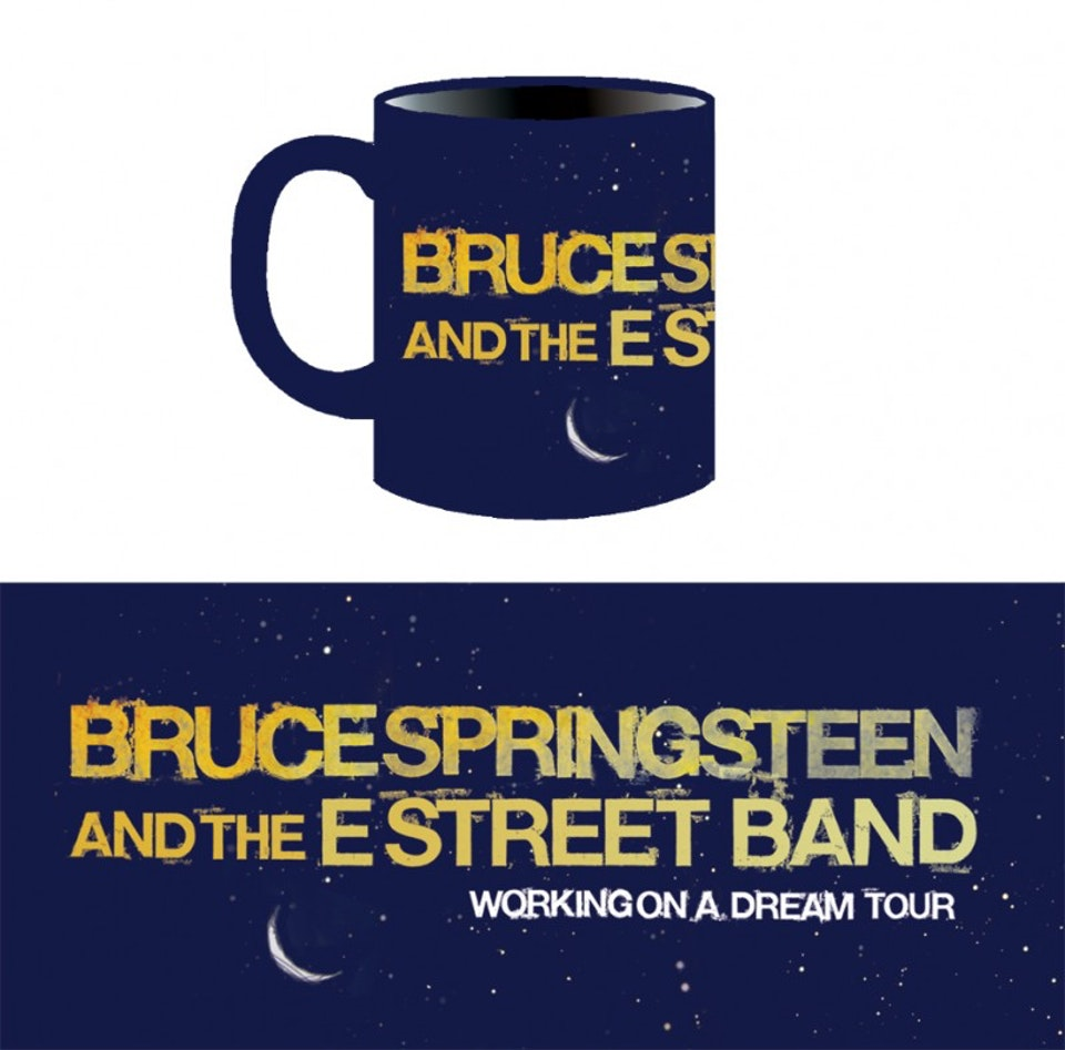 Working on a Dream Tour Merch - Coffe mug