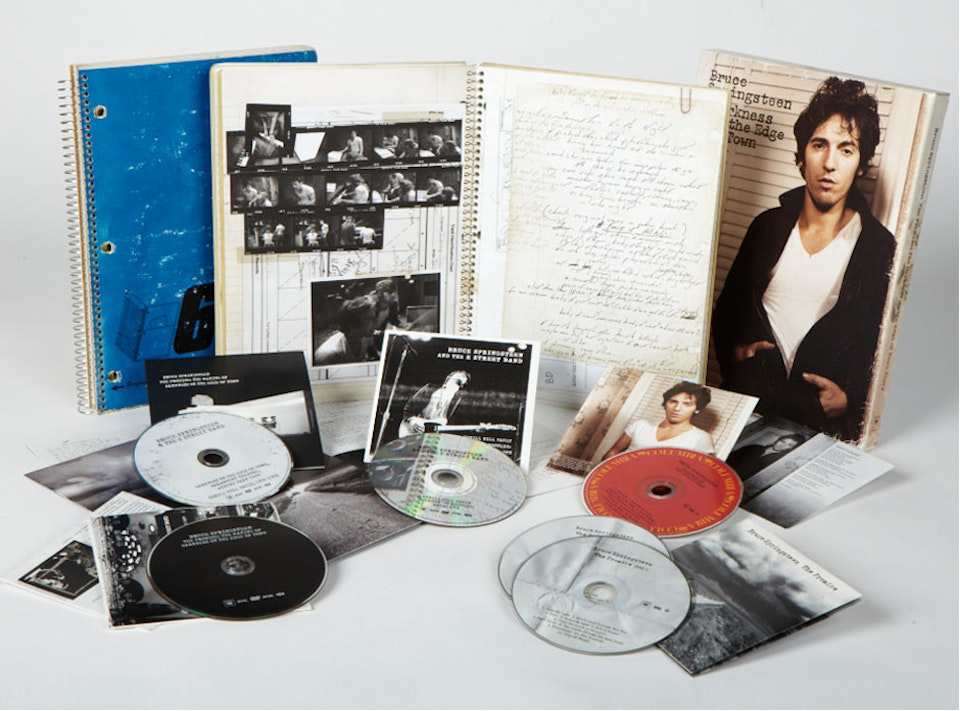Grammy winning Darkness on the Edge of Town - Complete box set