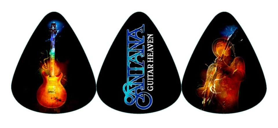 Santana Guitar Heaven - Guitar picks