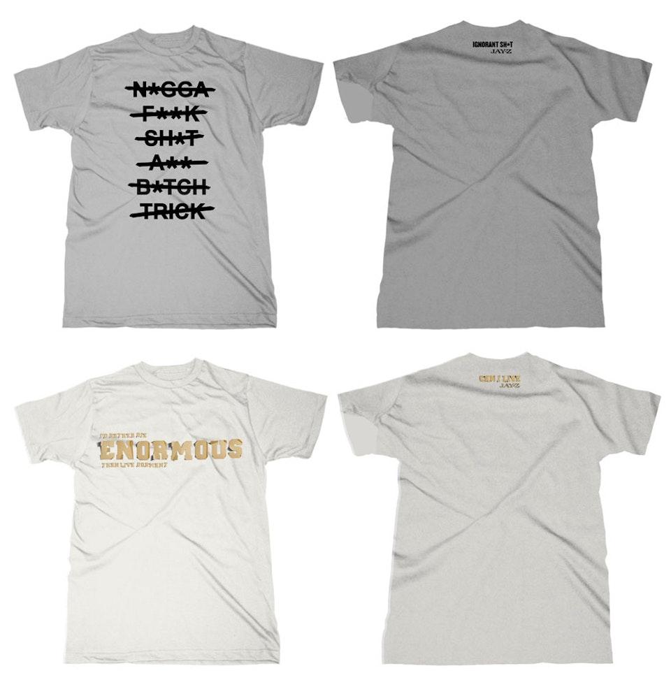 Lyric Tees - Approved shirts