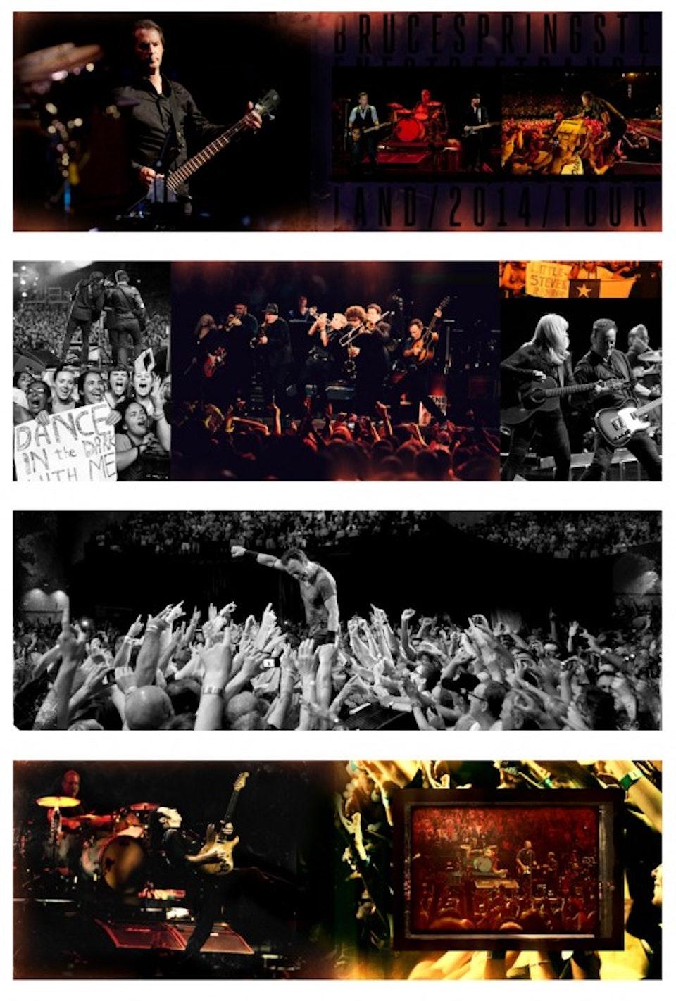 High Hope Tour Book - Tour book spreads