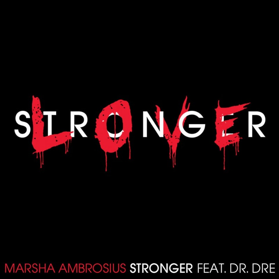 Marsha Ambrosius Friends & Lovers - Stronger single cover